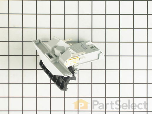 2180050-3-S-Whirlpool-W10130698-Handle and Latch Assembly with Switches