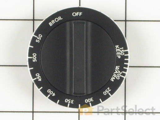 2186761-1-S-Whirlpool-Y0057451-Oven Control Knob
