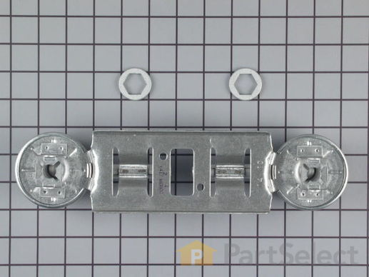 232404-3-S-GE-WB16K10026        -Double Burner Assembly