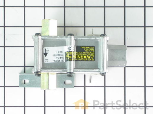233886-3-S-GE-WB19K36           -Dual Oven Safety Control Valve