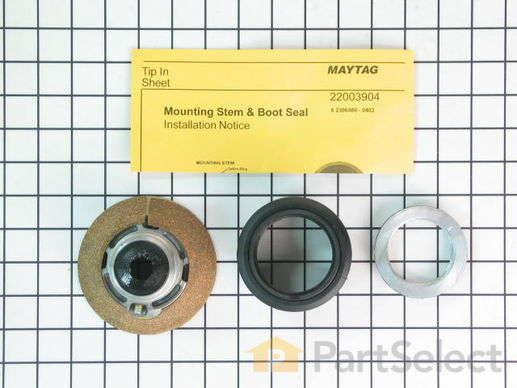 2351899-1-S-Whirlpool-6-2095720-Mounting Stem/Tub Seal Kit