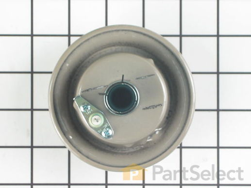 2356993-2-S-Whirlpool-3412D024-28-Burner Head with Spark Electrode - Taupe