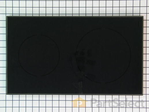 2357733-1-S-Whirlpool-5705M134-60-Glass Cooktop - Black