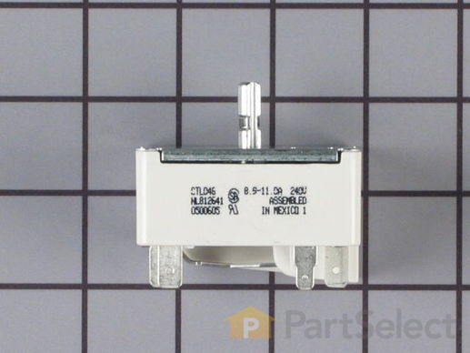 236303-1-S-GE-WB23K5027         -Large Surface Burner Switch - 2350W 240V