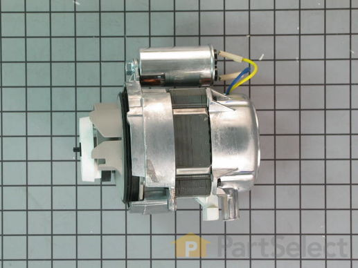 2363114-1-S-Whirlpool-W10239404-Circulation Pump Motor with Impeller - 60Hz 120V