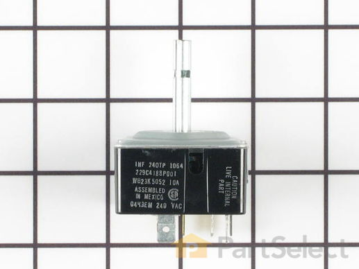 236327-1-S-GE-WB23K5052         -Dual Infinite Control Switch - 3000W
