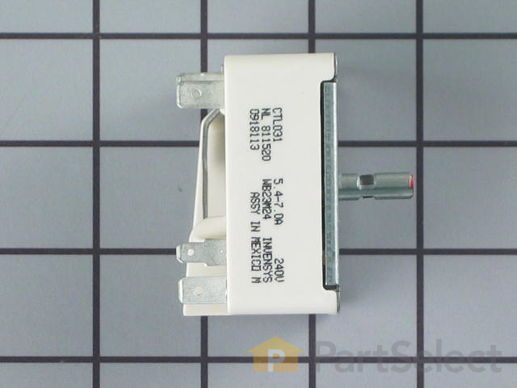 236384-4-S-GE-WB23M24           -Small Surface Burner Switch - 1500W