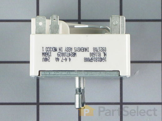 "236754-2-S-GE-WB24T10029        -Surface Burner Switch - 6"" - 1560W"