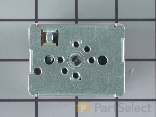 "236754-4-S-GE-WB24T10029        -Surface Burner Switch - 6"" - 1560W"