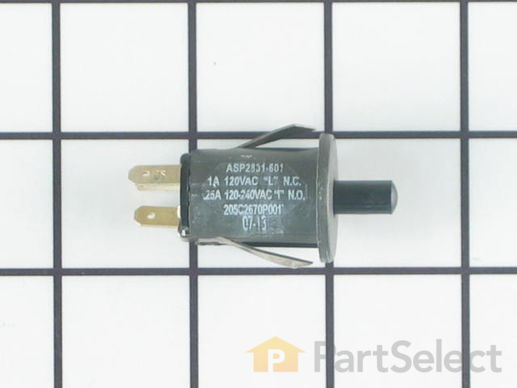236787-2-S-GE-WB24T10065        -Door Light Switch