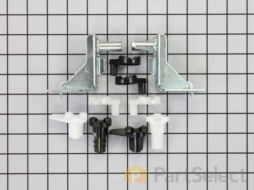 2379388-2-S-Frigidaire-5303918455-Hinge Kit - Left and Right Hinges