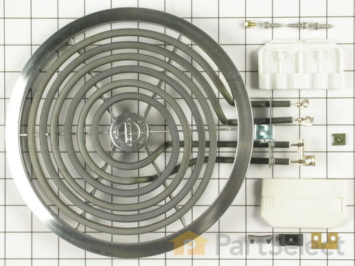 244048-2-S-GE-WB30X354          -Tilt-Lock Hinge-Mounted Surface Burner - 8""
