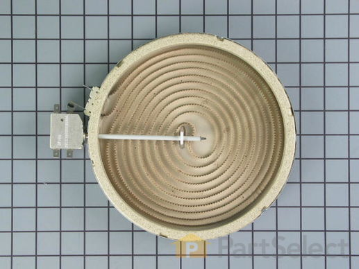 244097-1-S-GE-WB30X5111         -Surface Burner Element with Limiter - 8""