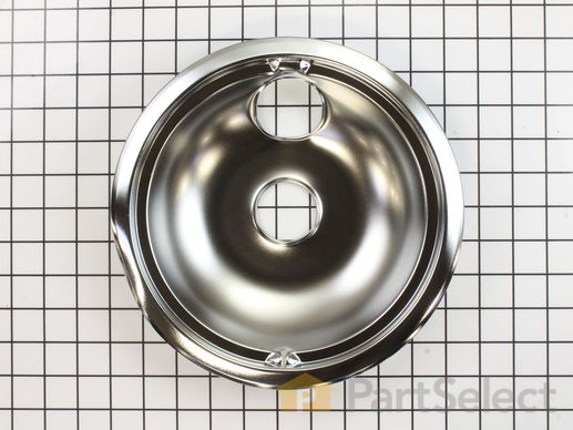 244370-1-S-GE-WB31M15           -Surface Burner Drip Bowl - 8""