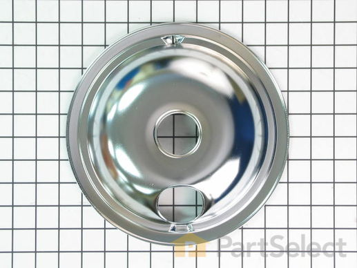244370-2-S-GE-WB31M15           -Surface Burner Drip Bowl - 8""