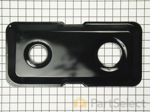 244586-2-S-GE-WB32K9            -Double Burner Pan - Right Side