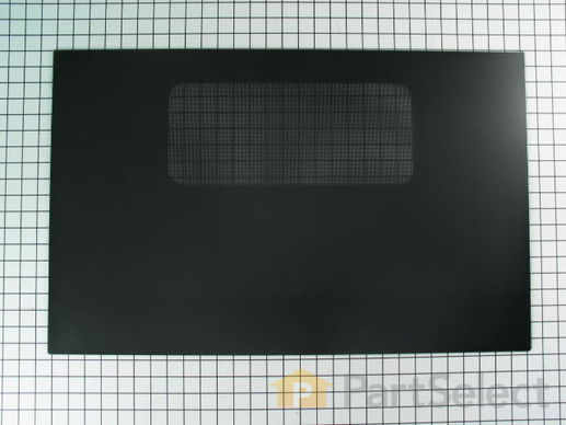 252817-1-S-GE-WB57K2            -Exterior Oven Door Glass