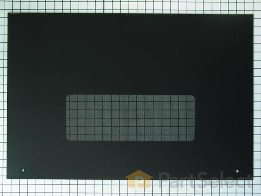 253236-2-S-GE-WB57T10110        -Outer Oven Door Glass - Black