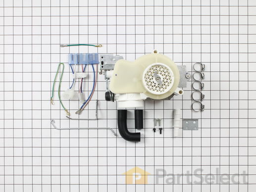 260801-3-S-GE-WD26X10013        -Motor and Pump Kit