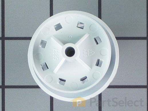 268454-2-S-GE-WH01X10064        -Timer Knob