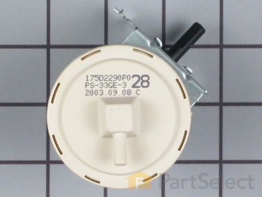 269790-2-S-GE-WH12X10065        -Water Level Pressure Switch