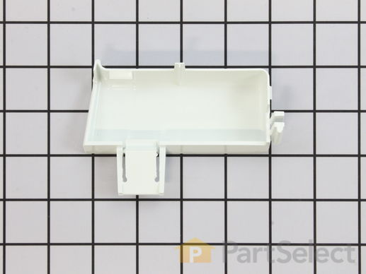 299691-1-S-GE-WR2X9296          -Shelf Support End Cap - Right Side