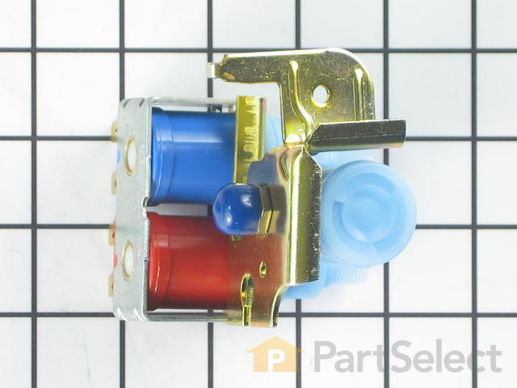 304348-4-S-GE-WR57X10006        -Dual Inlet Water Valve