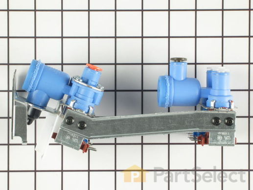 304364-4-S-GE-WR57X10022        -Water Valve and Bracket Assembly