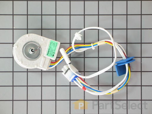 304658-1-S-GE-WR60X10074        -Evaporator Fan With Thermistor