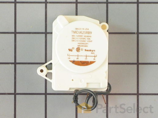 310849-1-S-GE-WR9X480           -Defrost Timer