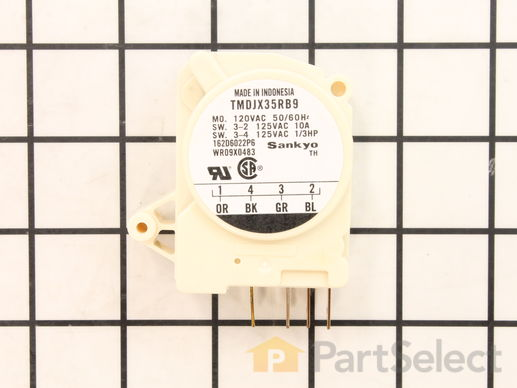 310852-1-S-GE-WR9X483           -Defrost Timer