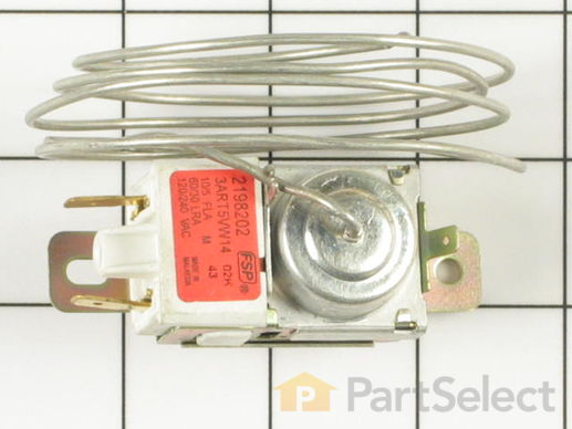 329884-2-S-Whirlpool-2198202           -Thermostat Assembly