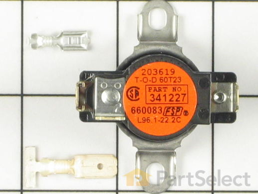 334124-1-S-Whirlpool-279048            -High Limit Thermostat - Limit: 205-40