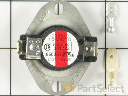334126-1-S-Whirlpool-279052            -High Limit Thermostat - Limit 250-40
