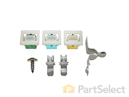 334230-2-S-Whirlpool-279570            -Door Catch Kit