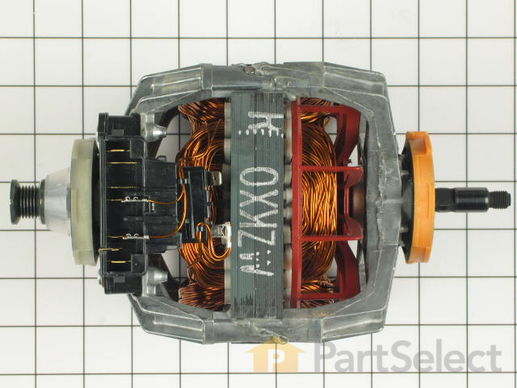 334287-4-S-Whirlpool-279787            -Drive Motor with Threaded Shaft - 120V 60Hz