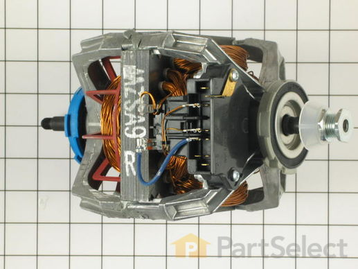 334304-2-S-Whirlpool-279827            -Drive Motor with Pulley