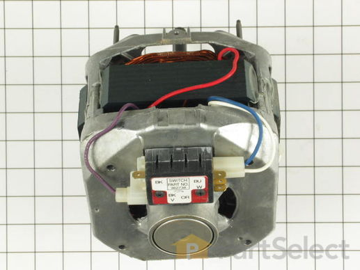 334458-3-S-Whirlpool-285222            -Belt Drive Motor Kit with Capacitor