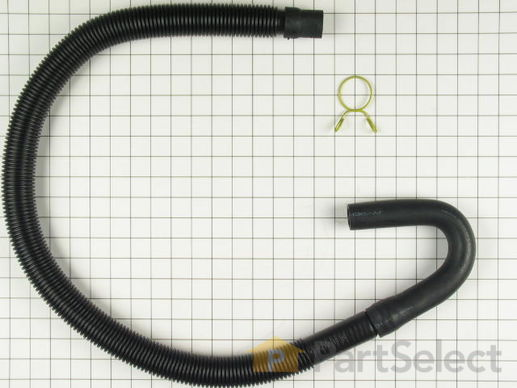 334596-1-S-Whirlpool-285664            -Drain Hose with Clamp