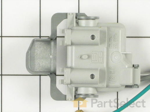 334600-4-S-Whirlpool-285671            -Lid Switch Assembly