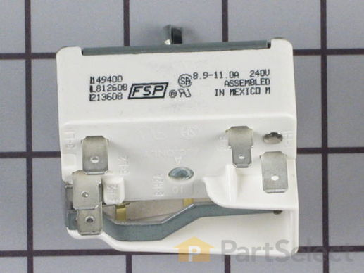 336989-3-S-Whirlpool-3149400           -Surface Burner Element Switch - 8""