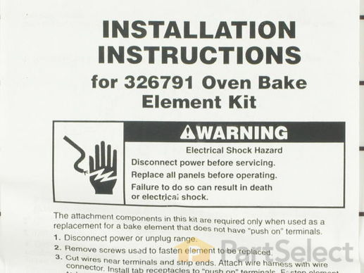 340505-3-S-Whirlpool-326791            -Bake Element - 240V 2100W