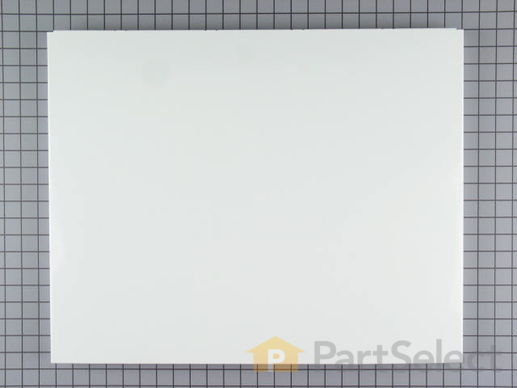 344089-1-S-Whirlpool-3379376           -Dishwasher Door Front Panel - White