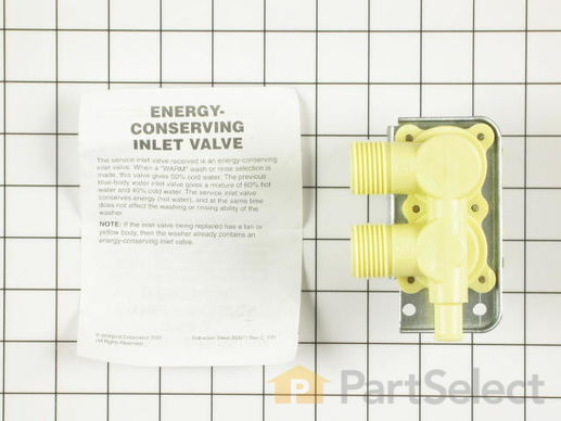 348482-2-S-Whirlpool-358277            -Water Inlet Valve
