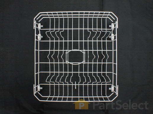 3486947-2-S-GE-WD28X10284-Lower Dishrack with Wheels