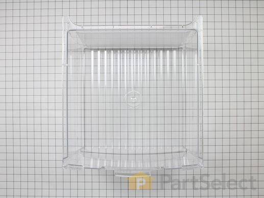 3487932-1-S-GE-WR32X10834-Vegetable Drawer - Clear