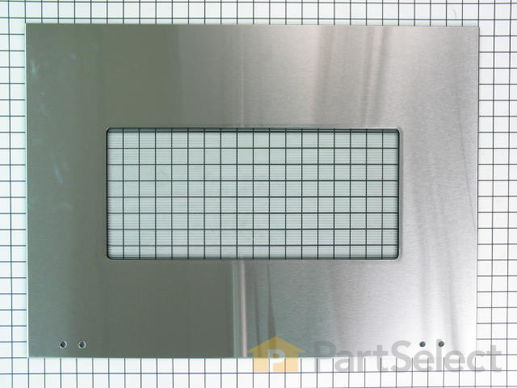 3495223-1-S-Whirlpool-W10401225-Exterior Door Glass - Stainless