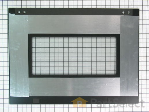 3495223-2-S-Whirlpool-W10401225-Exterior Door Glass - Stainless