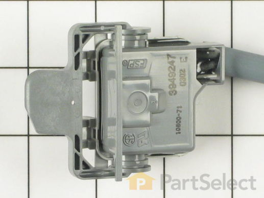 350434-4-S-Whirlpool-3949247           -Lid Switch Assembly with Leads