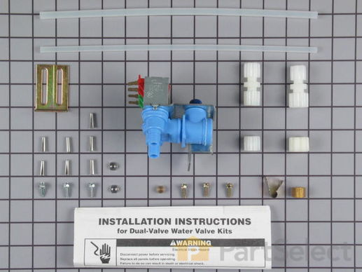 358630-1-S-Whirlpool-4318046           -Dual Outlet Valve Kit